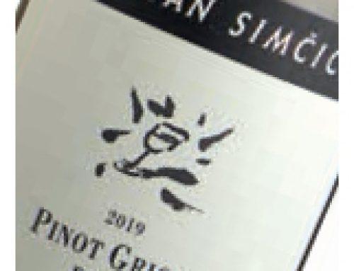 Pinot grigio, Marjan Simčič