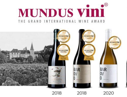 Nova velika priznanja za vinariju Tikveš Châteaux & Domaines
