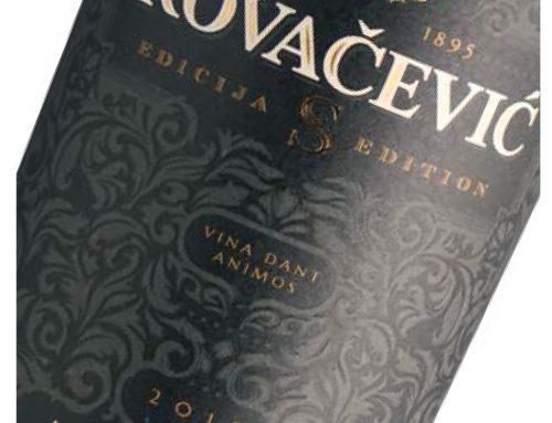 Aurelius Edicija S, Vinarija Kovačević